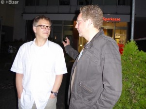 Christian Kehm und Andreas Wiese.